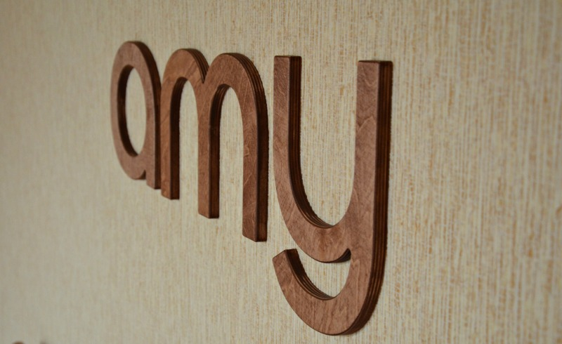 8 wall wood letters brown or cherry baby nursery letters custom wood home decor wedding decor wood wall decor